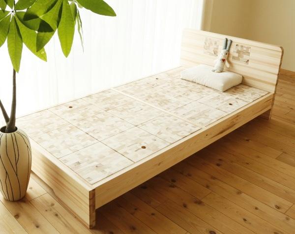 【百年杉】ベッド