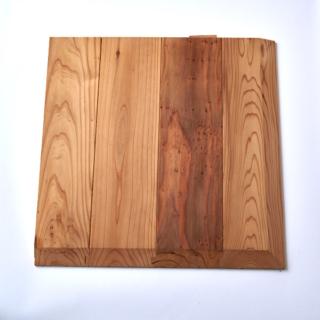 百年杉の赤床タイル
