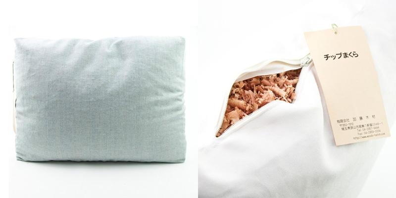 百年杉のチップ枕