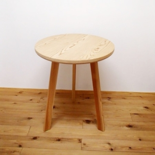 百年杉丸テーブル