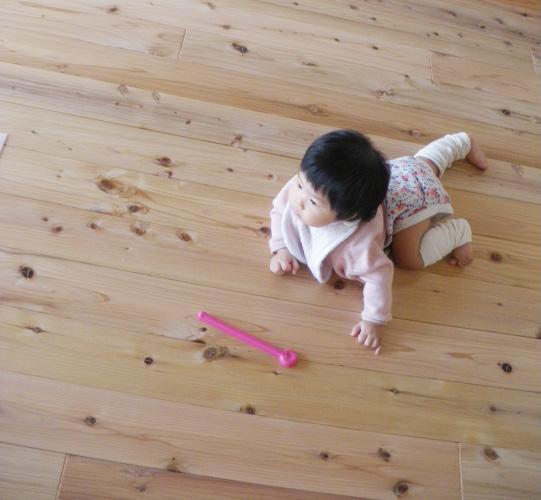 赤ちゃんが好感触に感じる素材