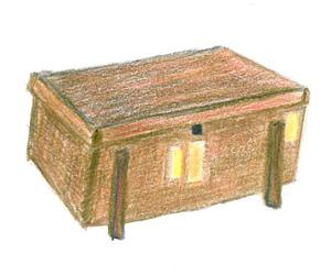 杉の唐櫃(からびつ)