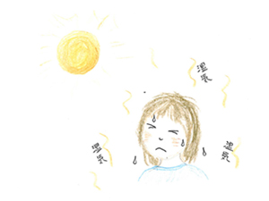 熱中症は温度より湿度に注意